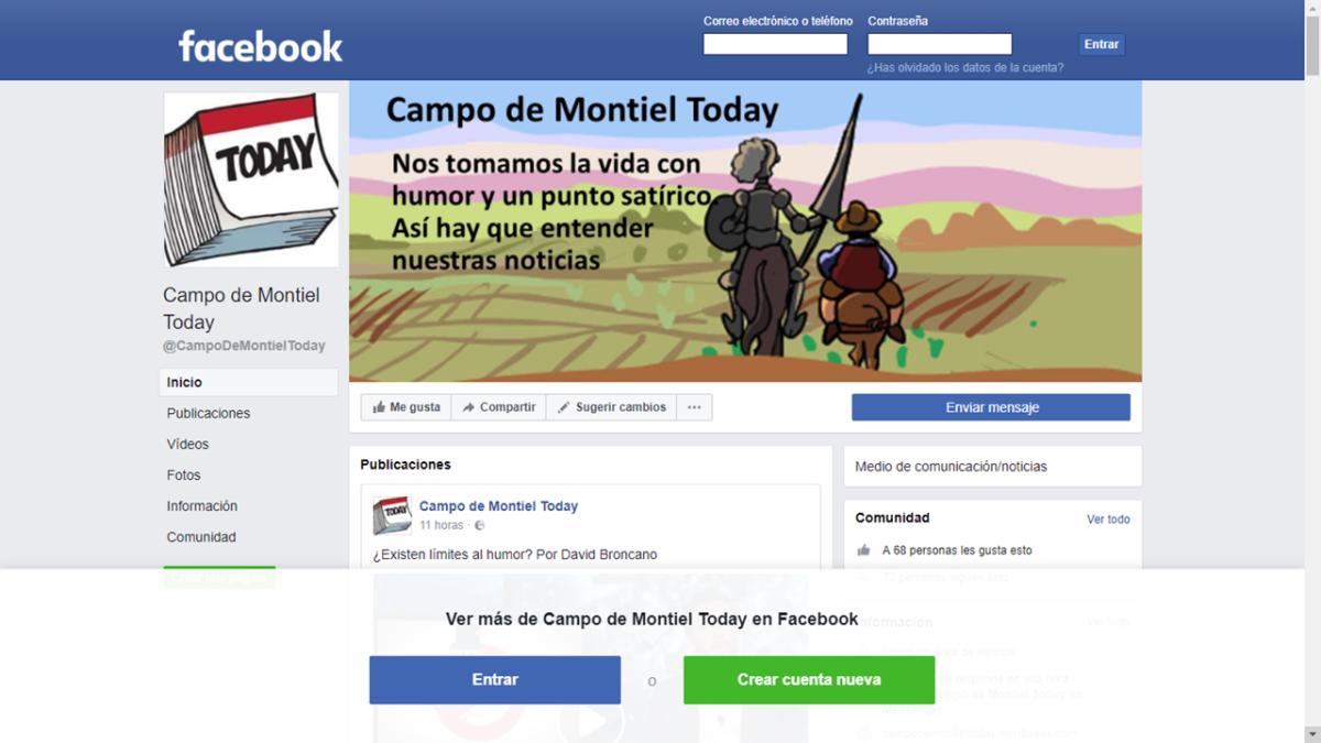 """Nace el diario satírico """"El Campo de Montiel Today"""""""